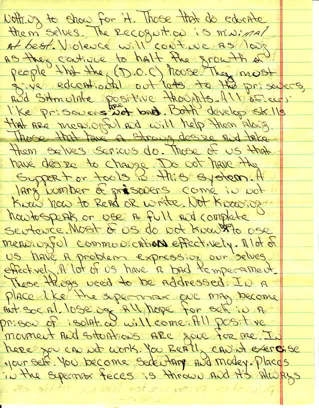 write a prisoner maryland